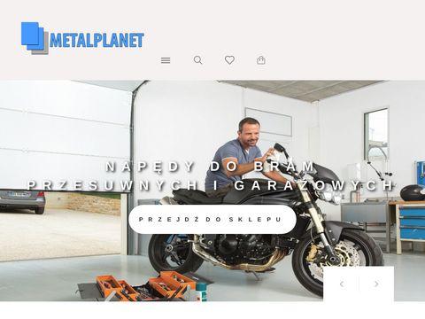 Metalplanet.pl furtki bramy przesuwne tunele foliowe