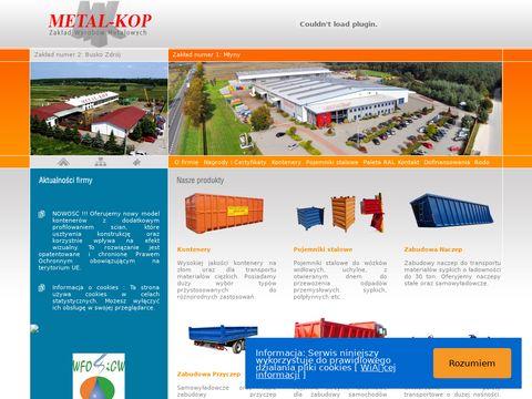Metal-kop.pl bezpieczne kontenery