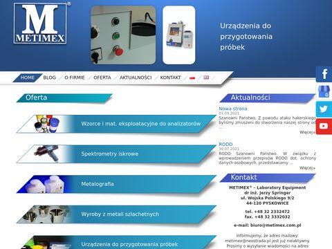 Metimex materiały referencyjne
