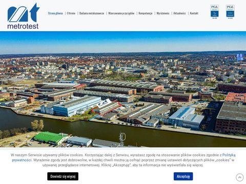 Metrotest badania udarności