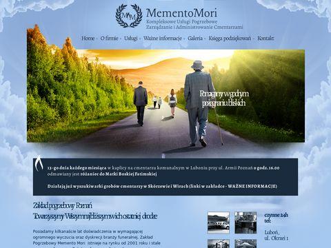Mementomori.com.pl - usługi pogrzebowe Poznań