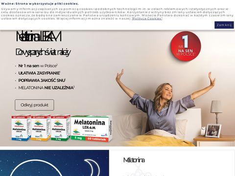 Melatonina.pl - środki nasenne