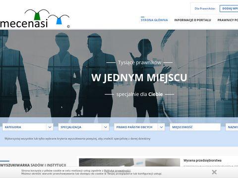 Mecenasi.pl Katalog prawników