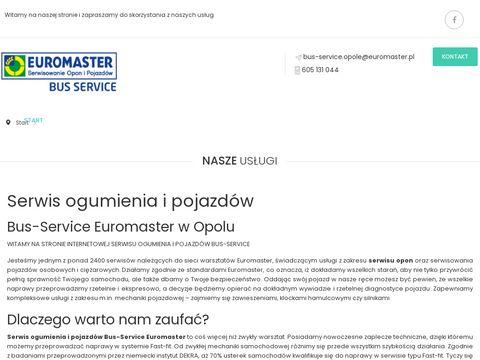 Bus-Service napełnianie klimatyzacji Opole