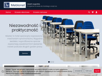 Meblo.net krzesła biurowe