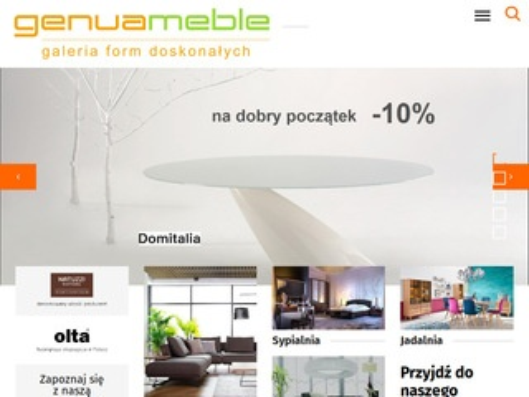 Meblegenua.pl fotele do salonu