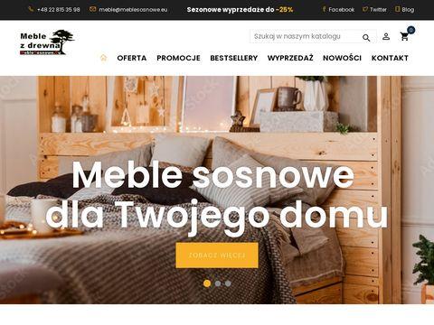 Meblesosnowe.eu Star producent mebli sosnowych