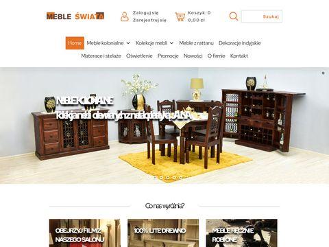 Mebleswiata.com.pl z Indii