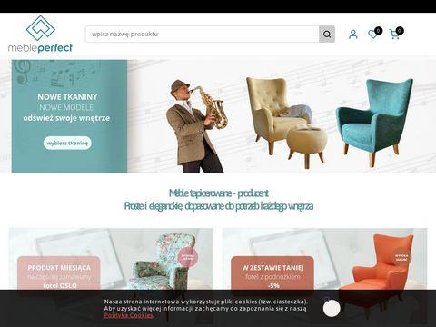 Mebleperfect.pl fotele Poznań