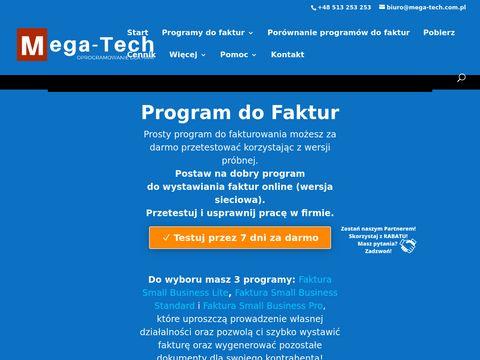 Mega-tech.com.pl - sklep z oprogramowaniem