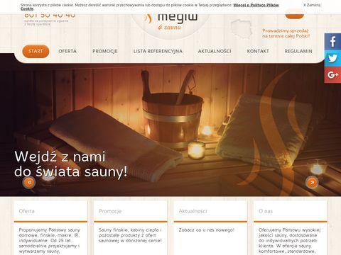 Megiw - sauny na wymiar