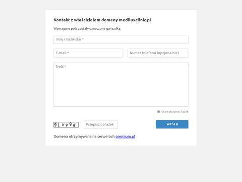 MediLuxClinic Anna Kacalak-Rzepka