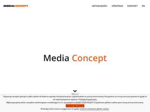 Mediaconcept.com.pl dom mediowy Warszawa