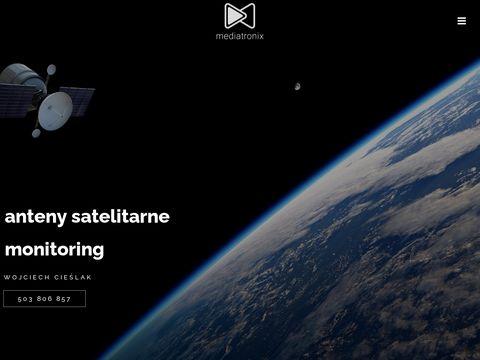 Mediatronix - montaż anten - monitoring - Łódź