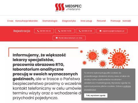 Medycyna Specjalistyczna ZOZ endokrynolog Gdańsk