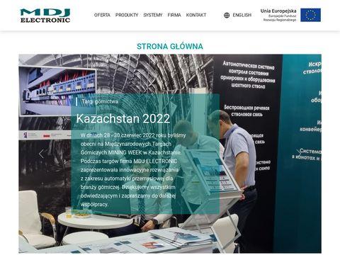 MDJ ELECTRONIC automatyka przemysłowa