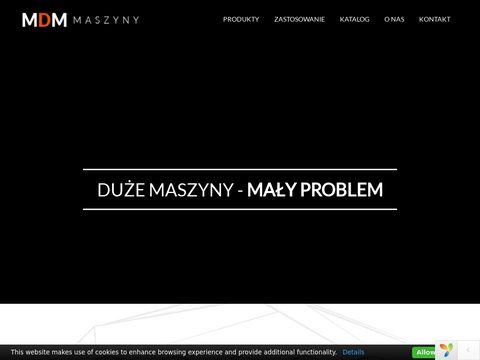 MDM Maszyny budowlane, stabilizatory gruntu