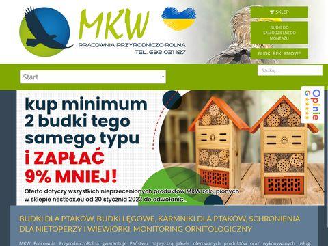 Mkwpracownia.pl karmnik dla ptaków