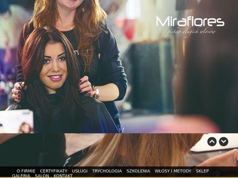 Miraflores przedłużanie włosów, Nano, Trycholog
