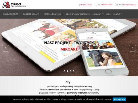 Miroart.pl Lębork strony www