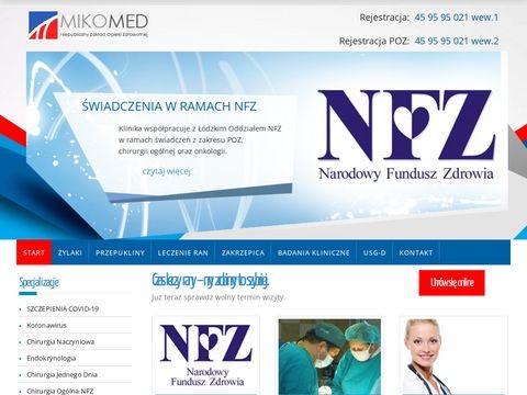 Mikomed.pl - operacje żylaków Łódź