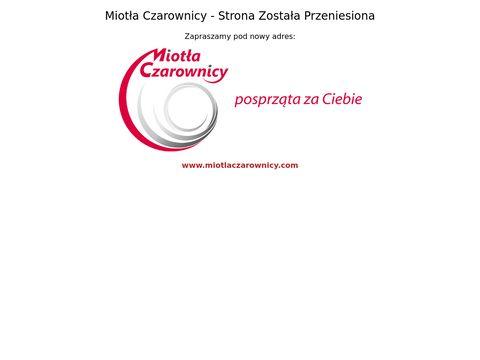 Miotła Czarownicy - Sprzątanie Warszawa