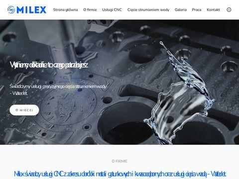 Milex.net.pl usługi CNC