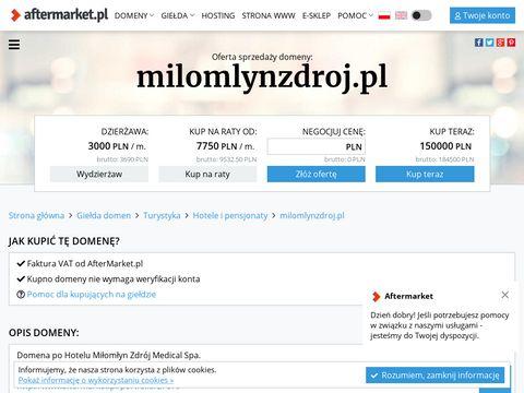 Hotel Miłomłyn Zdrój Medical Spa wczasy