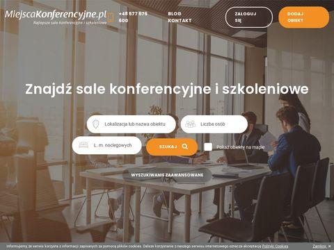 Miejscakonferencyjne.pl - hotele