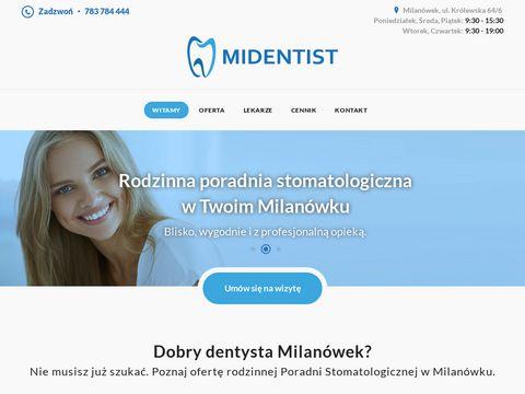 Midentist.pl dentysta dziecięcy Milanówek