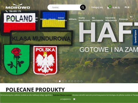 Morowo.com.pl sklep z survivalem
