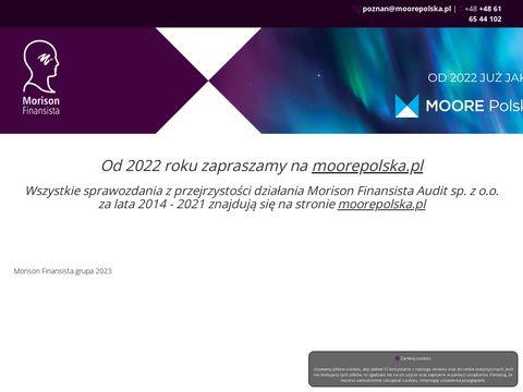 Morison - Badanie sprawozdania finansowego