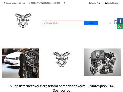 Motospec2014.pl auto części sklep internetowy