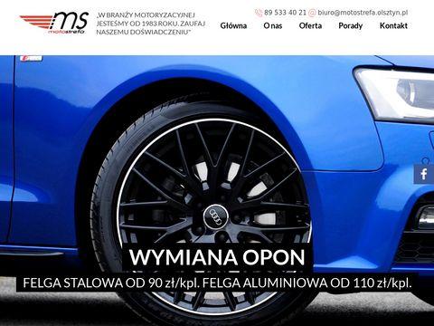 Motostrefa Roman Wyleciał Olsztyn serwis