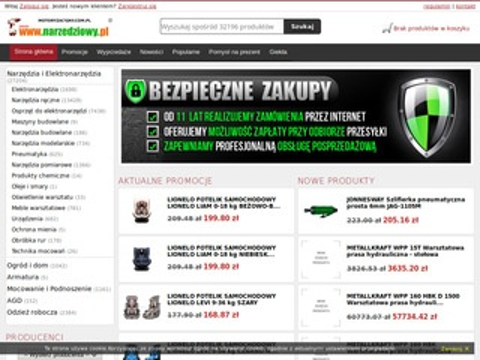 Motoryzacyjny.com.pl narzędzia i elektronarzędzia