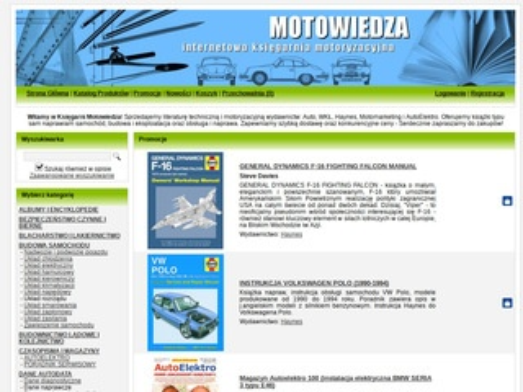 Motowiedza.pl - literatura motoryzacyjna