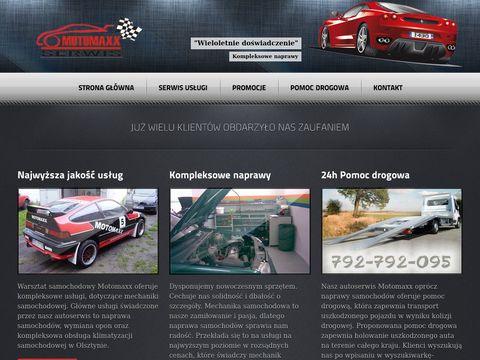 Warsztat samochodowy - Motomaxx autoserwis Olsztyn
