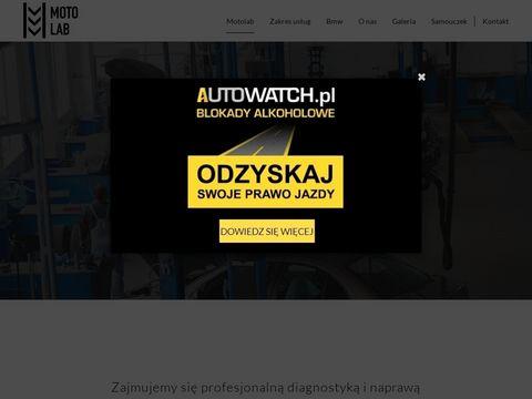 Motolab bosch serwis samochodowy Warszawa