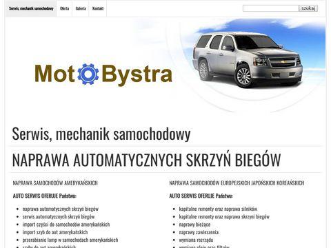 Motobystra.pl naprawa automatycznych skrzyń biegów