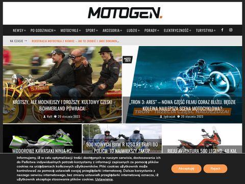 Motogen.pl - dla tych, którzy kochają motocykle
