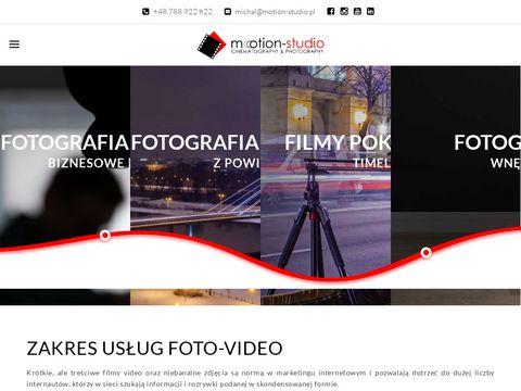 Motion-studio.pl produkcja filmów reklamowych