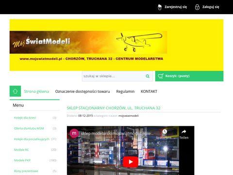 Mojswiatmodeli.pl sklep modelarski kolejki elektryczne