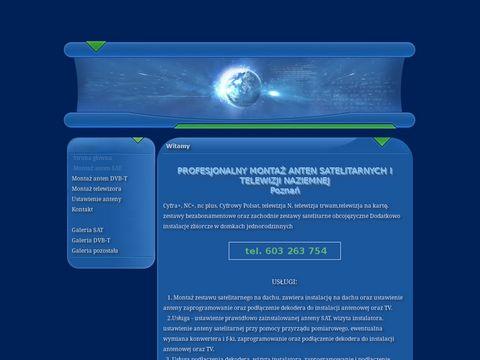 Montaz.plazmy.com.pl instalacja anten Poznań
