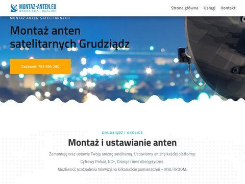 Montaz-anten.eu Grudziądz satelitarne i naziemne