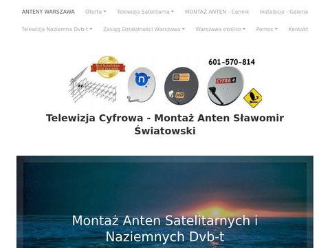 Montaz-anten-tv.pl Wołomin Sulejówek Warszawa