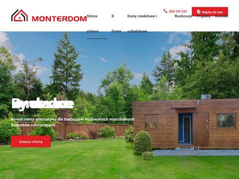Monterdom domki modułowe