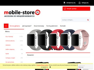 Mobile-store.pl - akcesoria do iPhone i Galaxy