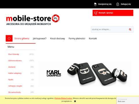 Mobile-store.pl - akcesoria do iPhone i Galaxy