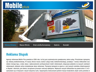 Mobile Plus reklama Słupsk