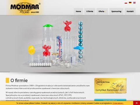 Modmar.com.pl producent opakowań przeźroczystych